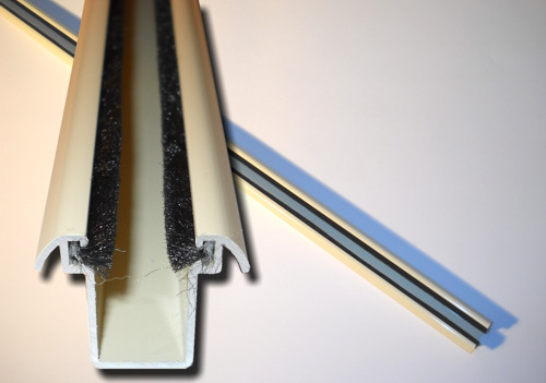 Guias persianas materiales de construcci n para la - Guia de aluminio ...